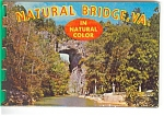 Natural Bridge Of Va Souvenir Folder