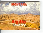 Montana Big Sky Country Souvenir Folder