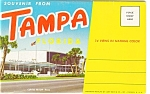 Tampa Florida Souvenir Folder