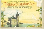 Thousand Islands Souvenir Folder 16 Views