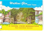Watkins Glen New York Souvenir Folder