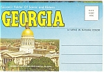 Historic And Scenic Georgia Souvenir Folder