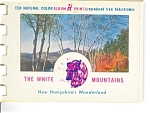 White Mts., New Hampshire Souvenir Folder