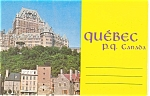 Province Of Quebec Canada Souvenir Folder