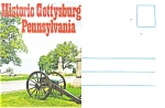 Historic Gettysburg, Pa Souvenir Folder
