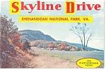 Skyline Drive, Va Souvenir Folder