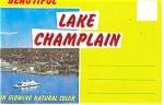 Lake Champlain, Ny Souvenir Folder