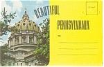 Beautiful Pennsylvania Souvenir Folder