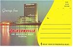 Jacksonville,fl Souvenir Folder