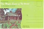 Maple Center Of World, St Johnsbury Vt Souvenir Folder