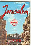 Jerusalem, Israel Souvenir Folder