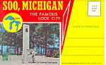 Soo,michigan, The Lock City Souvenir Folder