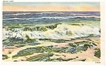 Rough Surf Scenic Postcard