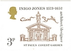 St Paul's Covent Garden Inigo Jones Postcard