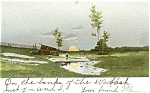 Scenic Sunrise Postcard 1906