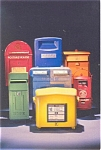 International Mailboxes Postcard