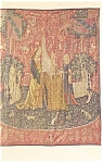 The Lady And The Unicorn Tapestry Postcard