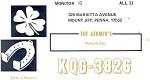 Kqg-3826 Cb Response Card