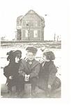 Three Adorable Victorian Children Postcard