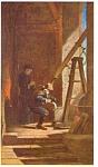 Der Sterngucker By Carl Spitzweg Postcard
