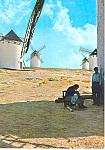 Windmills Postcard