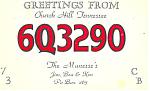 Cb Radio 6q3290 Qsl Postcard