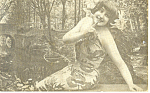 Winsome Victorian Girl Postcard