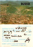 Qsl Card From Bad Duerkheim Germany