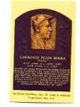 Yogi Berra Hall Of Fame Postcard