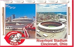 Riverfront Stadium, Home Of The Cincinnati Re