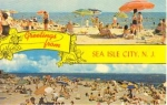 Sea Isle City Nj Postcard
