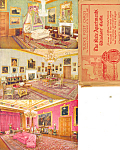 Tuck,state Apartments,windsor Castle Set Six Cards Rare