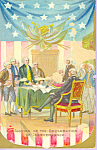 Signing Of Declaration Of Independence, Tucks