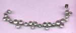1875 White Paste Trefoil Bracelet