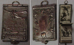 Victorian Locket W/ Fold Out Pictures Inside