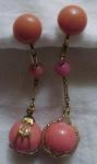 Gf Victorian Coral Earrings