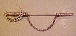 Victorian Sword Pin