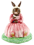 Bunnykins Polly 2006 Bunnykins Of Year Db402 Doulton