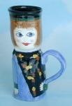 Ganz, Caroline, Bella Casa Susan Paley Lady Mug