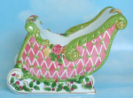 Royal Albert Sleigh Centerpiece By Royal Doulton