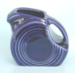 Fiesta Ware Cobalt Mini Disc Pitcher