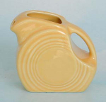 Fiesta Ware Sunflower Mini Disk Pitcher