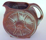 Frankoma 6.5 Inch Wagon Wheel Pitcher 94d