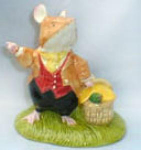 Brambly Hedge Lord Woodmouse With Basket