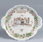 Brambly Hedge Cake Plate With Handles