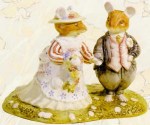Brambly Hedge The Bride And Groom Or Wedding Dbh144