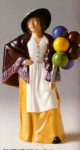 Royal Doulton Balloon Lady Character Figurine Hn 2935