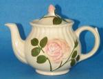 Shawnee Embossed Rose Teapot