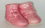 Shawnee Button Baby Shoes