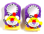 Ganz Lion Fadoozles Footsie Rattle Booties